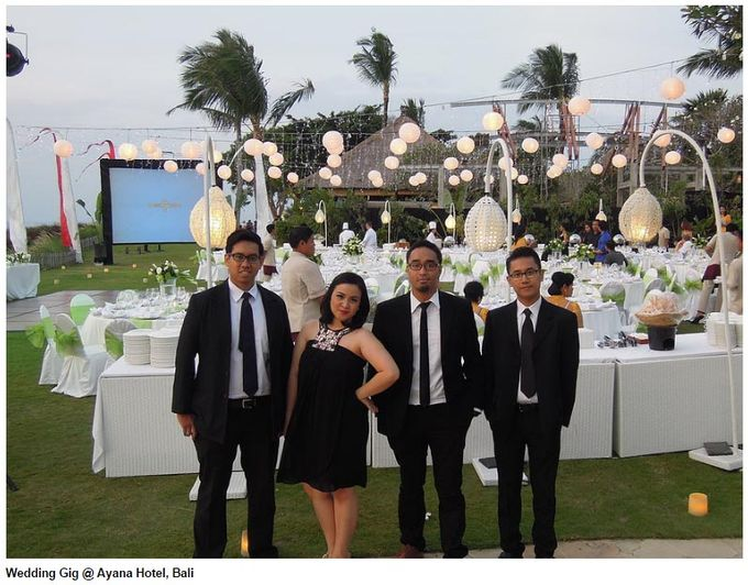 Wedding at Ayana Hotel Bali by Mole's Music - 001