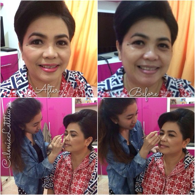 Before - After Makeup by Calenia Letitia Makeup Artist - 007