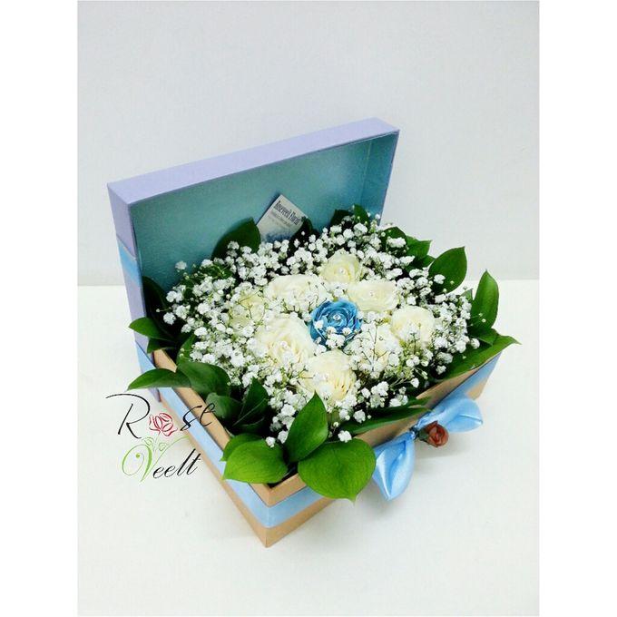 Flower in a Box Arrangement by Roseveelt Florist - 013