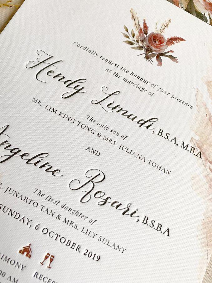 Romantic Bouquet by Trouvaille Invitation - 005