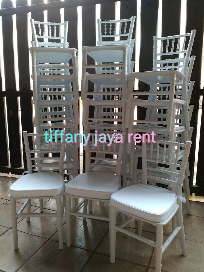 Kursi Tiffany Anak-anak Putih by TIFFANY JAYA RENT-KURSI TIFFANY - 001