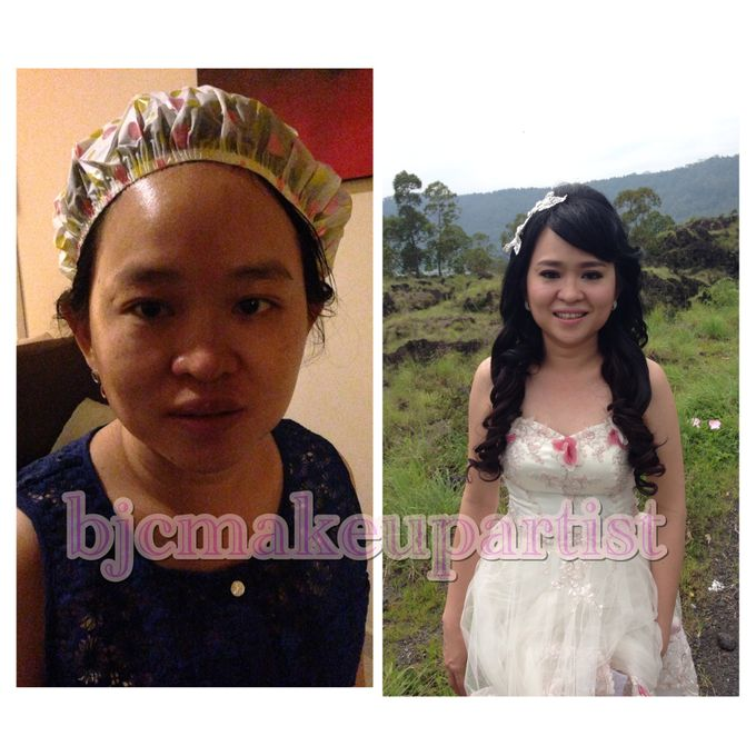 Before & After Prewedding Makeup by bjcmakeupartist - 001