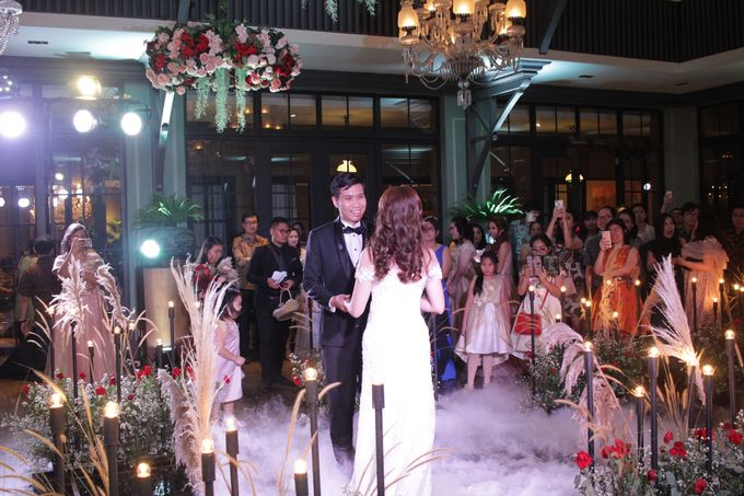MC Wedding Intimate Suasana Restaurant Jakarta - Anthony Stevven by Anthony Stevven - 016