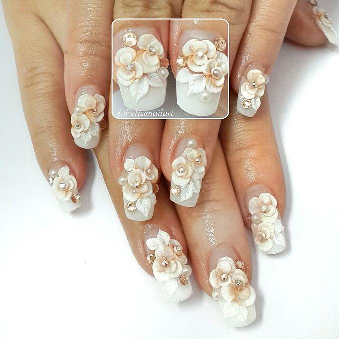 Wedding Nails 2015 By Felizenailart Bridestory Com