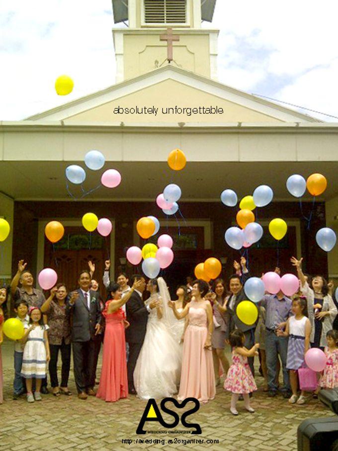THE WEDDING OF ANTON & LENNY / 17.01.15 / ROSE GARDEN RESTAURANT, SLIPI, JAKARTA by AS2 Wedding Organizer - 001