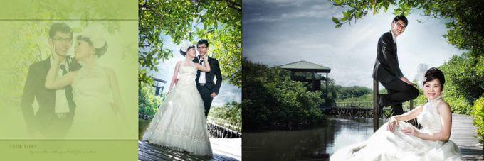 Contoh Album Prewedding Outdoor Magdalena Young Bridal Bridestory
