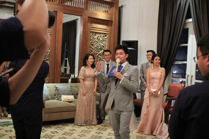 MC Wedding Intimate Plataran Menteng Jakarta - Anthony Stevven by THE PALACE Jeweler - 002