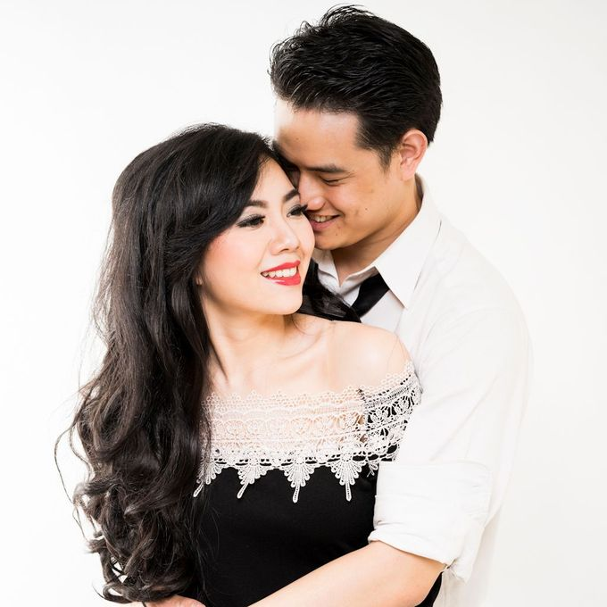 Prewed - Leo & Vanessa by Makeup by Ie - 010