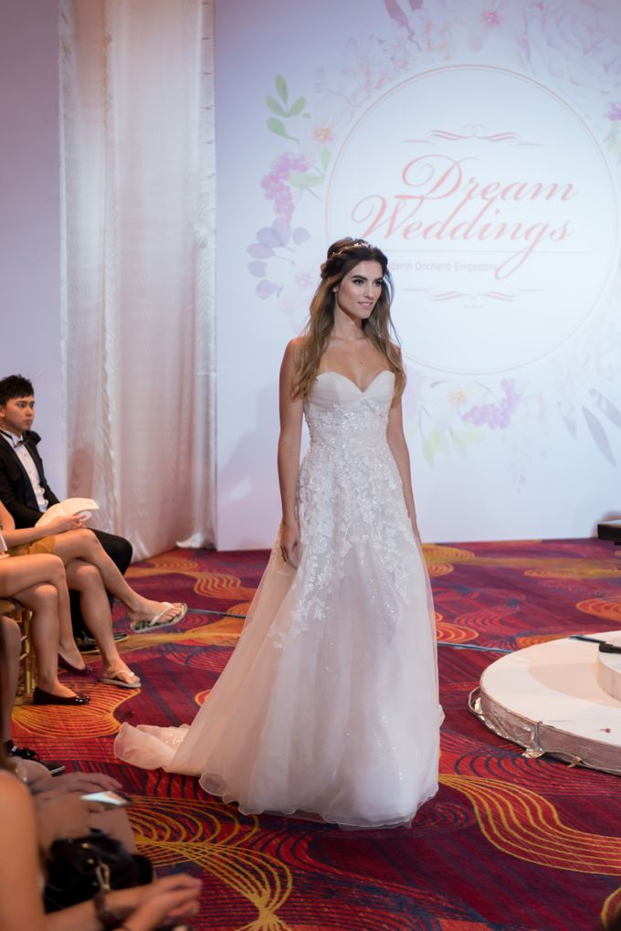 Bridal Gown Fashion Show At Mandarin Orchard Singapore by La Belle Couture Weddings Pte Ltd - 001
