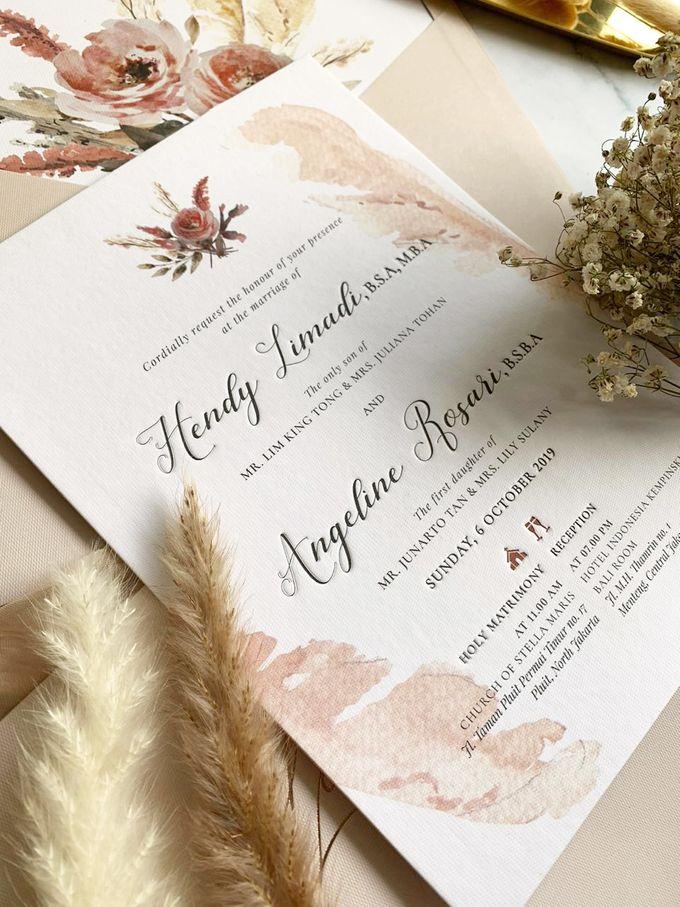 Romantic Bouquet by Trouvaille Invitation - 006