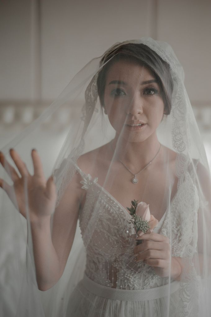 Alvin & Natasha Wedding by Philip Formalwear - 028