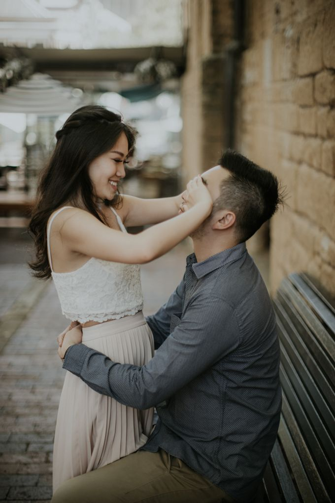 Jimmy & Sylvia Sydney Engagement Session by Calia Photography - 034