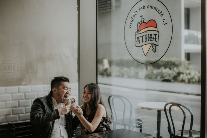 Jimmy & Sylvia Sydney Engagement Session by Calia Photography - 048