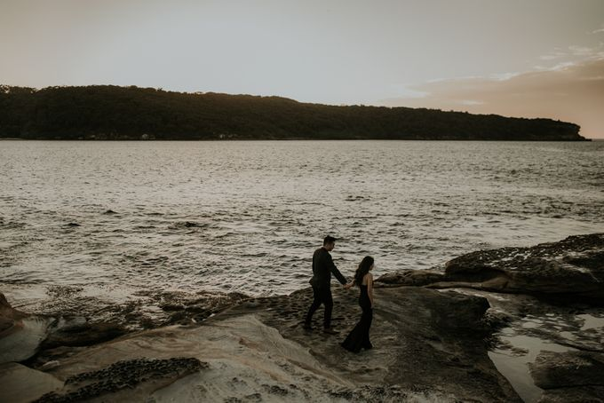 Jimmy & Sylvia Sydney Engagement Session by Calia Photography - 028