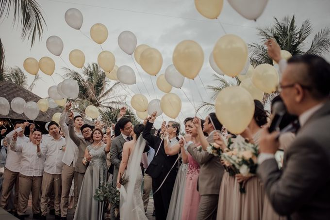 Wedding Aprilia  & Jerry by Bali Izatta Wedding Planner & Wedding Florist Decorator - 006