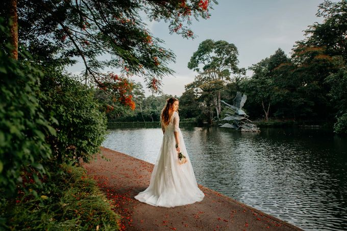 Anna & Angad [Botanic Gardens Singapore] by GrizzyPix Photography - 004