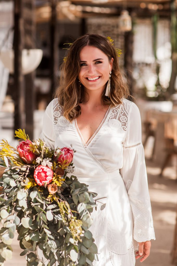 Boho-chic wedding in Seychelles by Evelina Korneevets - 013