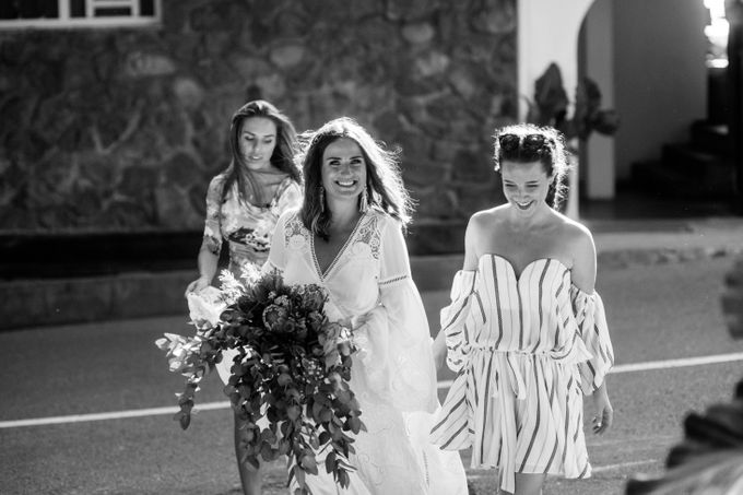 Boho-chic wedding in Seychelles by Evelina Korneevets - 015