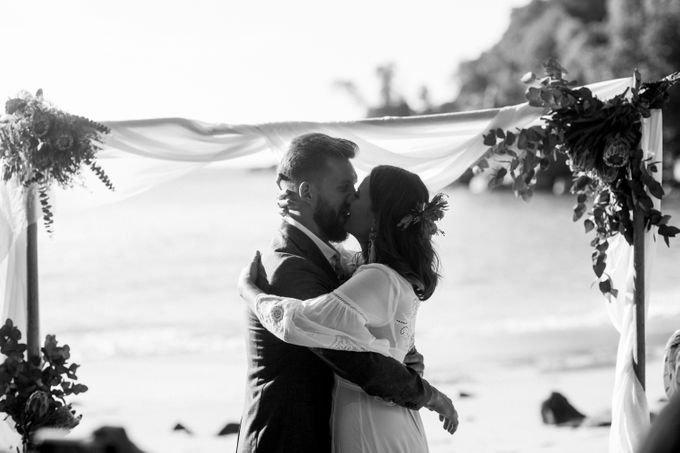 Boho-chic wedding in Seychelles by Evelina Korneevets - 025