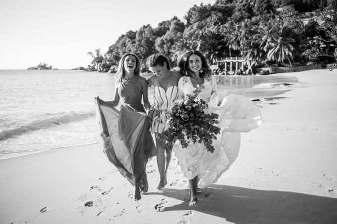 Boho-chic wedding in Seychelles by Evelina Korneevets - 032