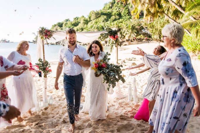 Boho-chic wedding in Seychelles by Evelina Korneevets - 026
