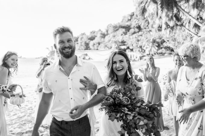 Boho-chic wedding in Seychelles by Evelina Korneevets - 027