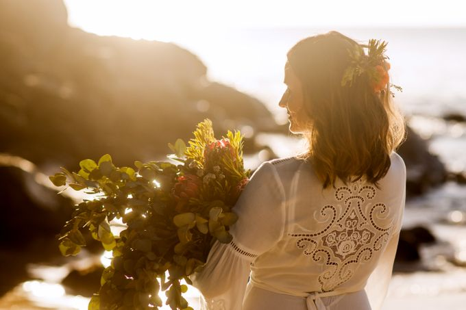 Boho-chic wedding in Seychelles by Evelina Korneevets - 038