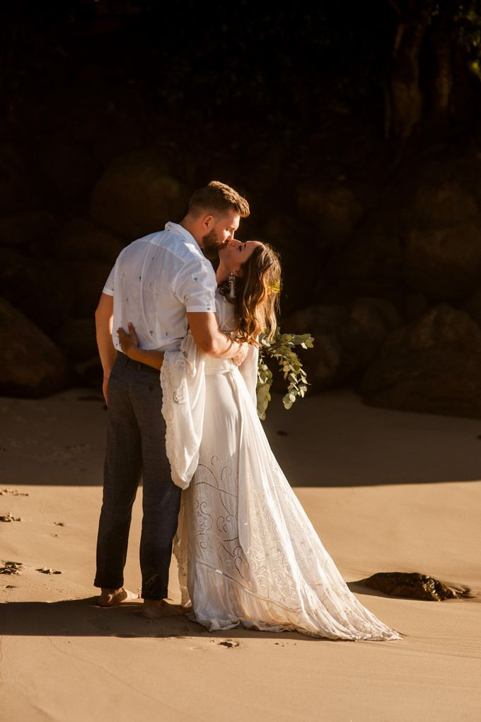 Boho-chic wedding in Seychelles by Evelina Korneevets - 039