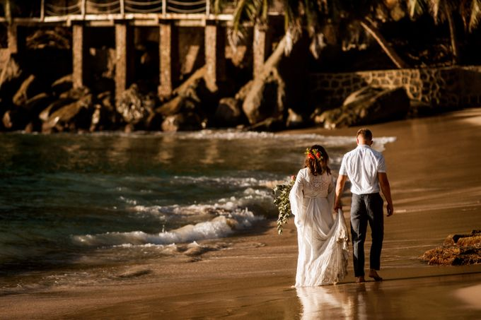 Boho-chic wedding in Seychelles by Evelina Korneevets - 036