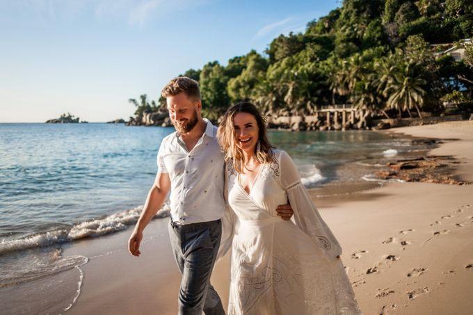 Boho-chic wedding in Seychelles by Evelina Korneevets - 043