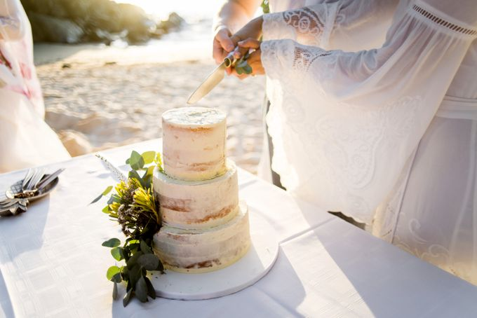 Boho-chic wedding in Seychelles by Evelina Korneevets - 045