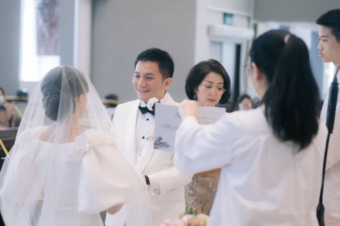Blessing Ceremony of Albert & Kelly by PRIVATE WEDDING ORGANIZER - 022