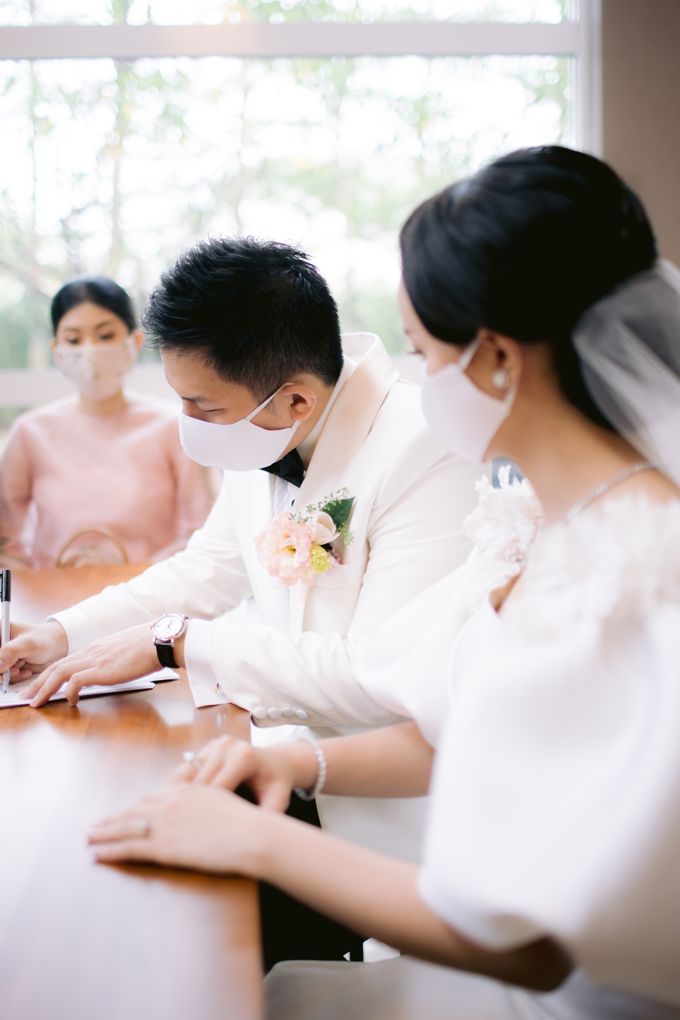 Blessing Ceremony of Albert & Kelly by PRIVATE WEDDING ORGANIZER - 010
