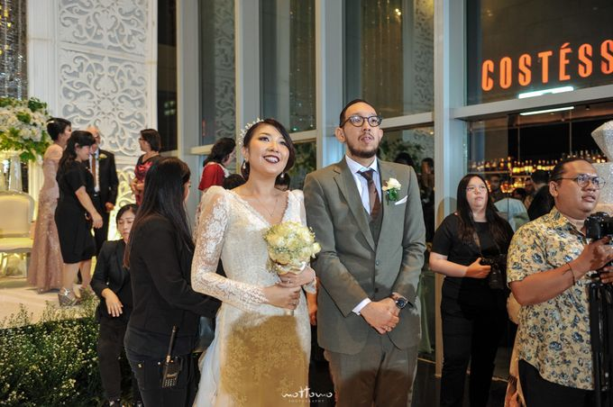 Wedding of  Andrias & Luvita by La'SEINE Function Hall - 001