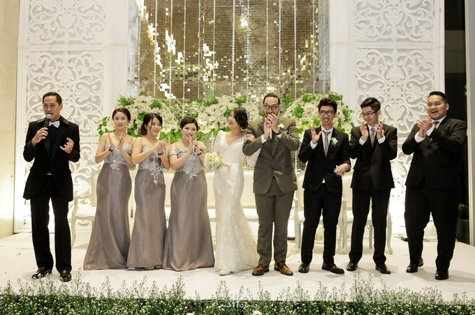 Wedding of  Andrias & Luvita by La'SEINE Function Hall - 008