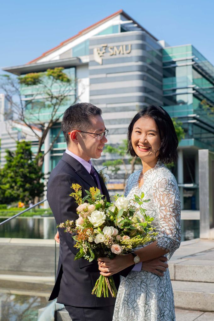 Pre-Wedding Shoot at SMU by GrizzyPix Photography - 002