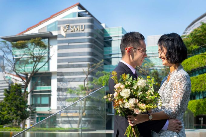 Pre-Wedding Shoot at SMU by GrizzyPix Photography - 003