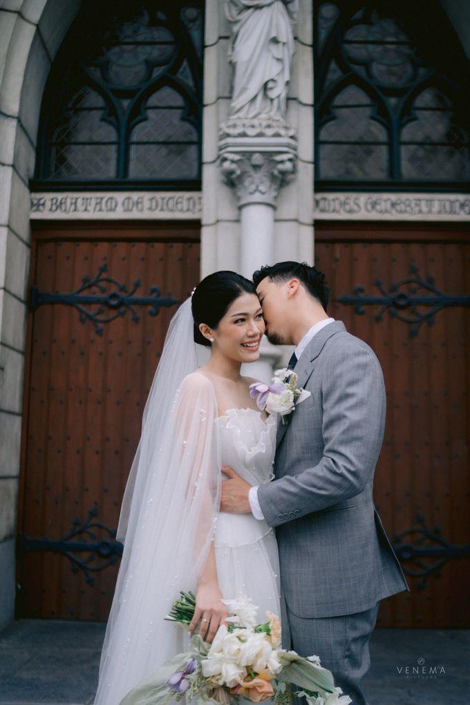 Anton & Azalia Wedding by NOMA Jewelry & Accessories - 006