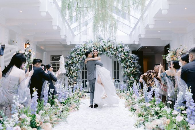 Anton & Azalia Wedding by NOMA Jewelry & Accessories - 014