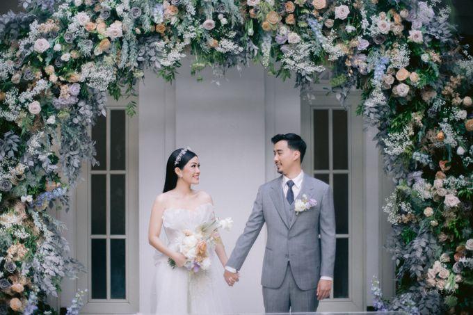 Anton & Azalia Wedding by NOMA Jewelry & Accessories - 017