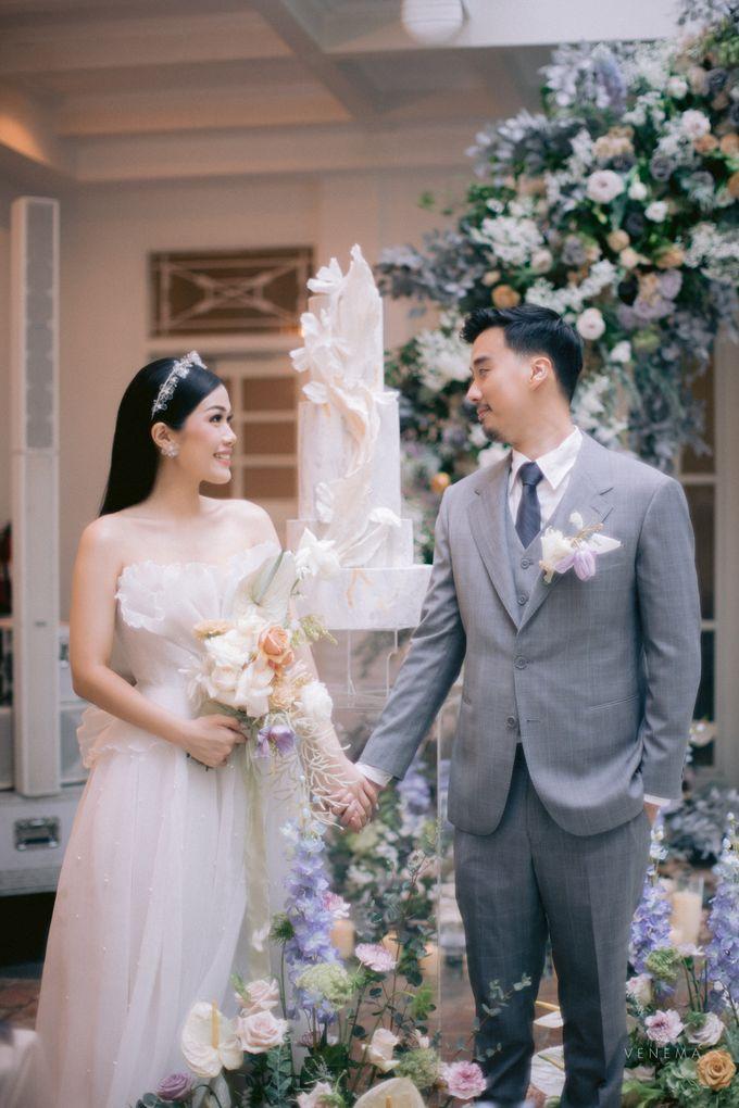 Anton & Azalia Wedding by NOMA Jewelry & Accessories - 018