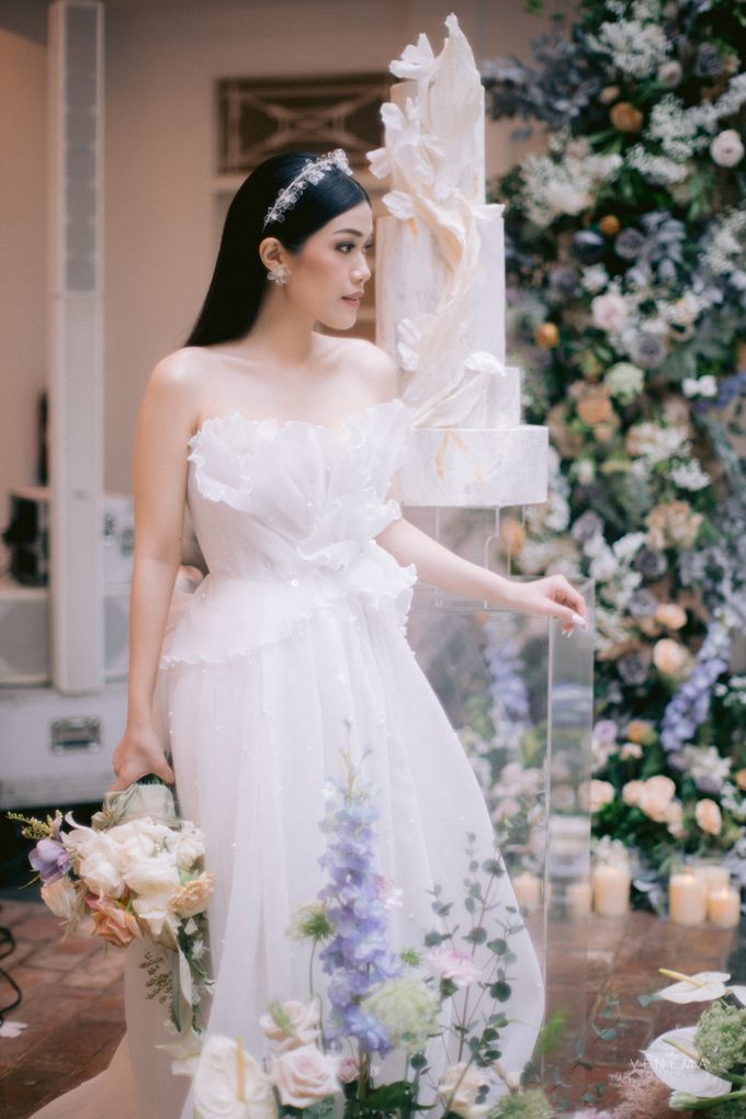 Anton & Azalia Wedding by NOMA Jewelry & Accessories - 019