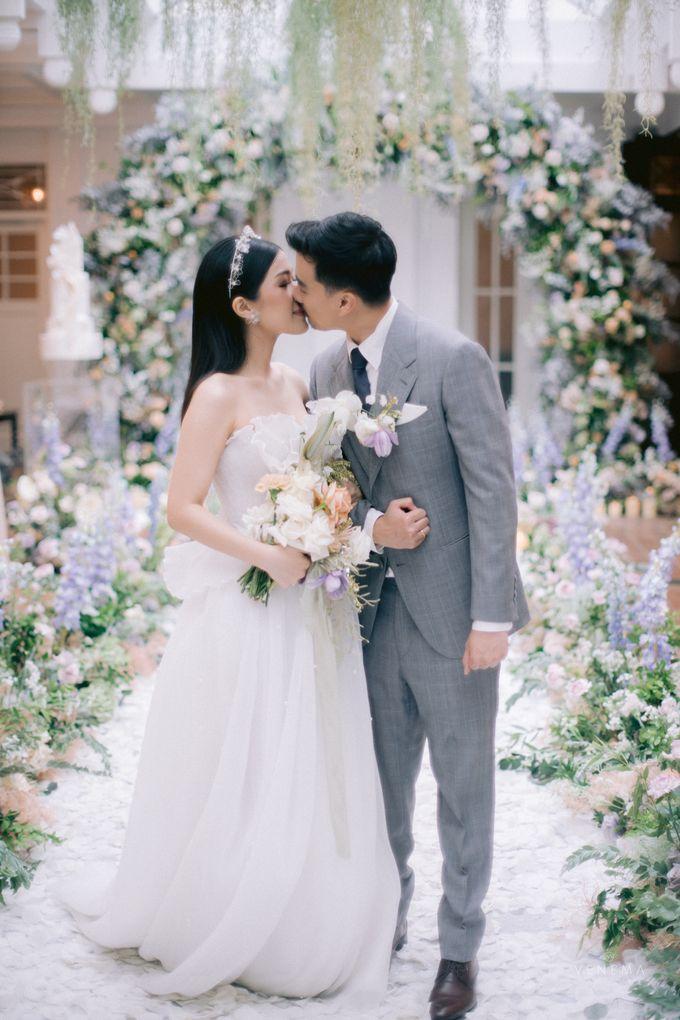 Anton & Azalia Wedding by NOMA Jewelry & Accessories - 021