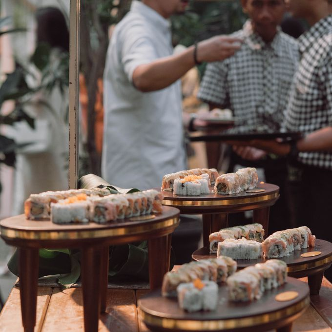 Wedding of Erina & Abi by Minity Catering - 006