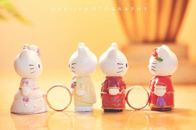 Alvin & Novi Wedding Day by Okeii Photography - 009
