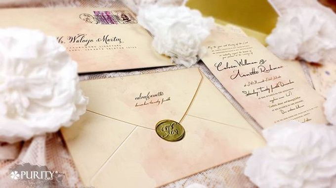 'Love Letter' Invitation by PurityCard - 003