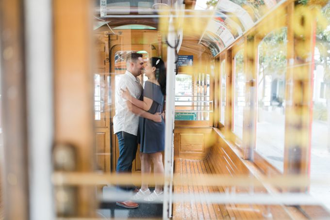 A Sunny San Francisco California Engagement Session by Foreveryday Photography - 004