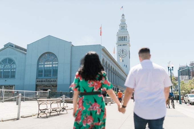 A Sunny San Francisco California Engagement Session by Foreveryday Photography - 012