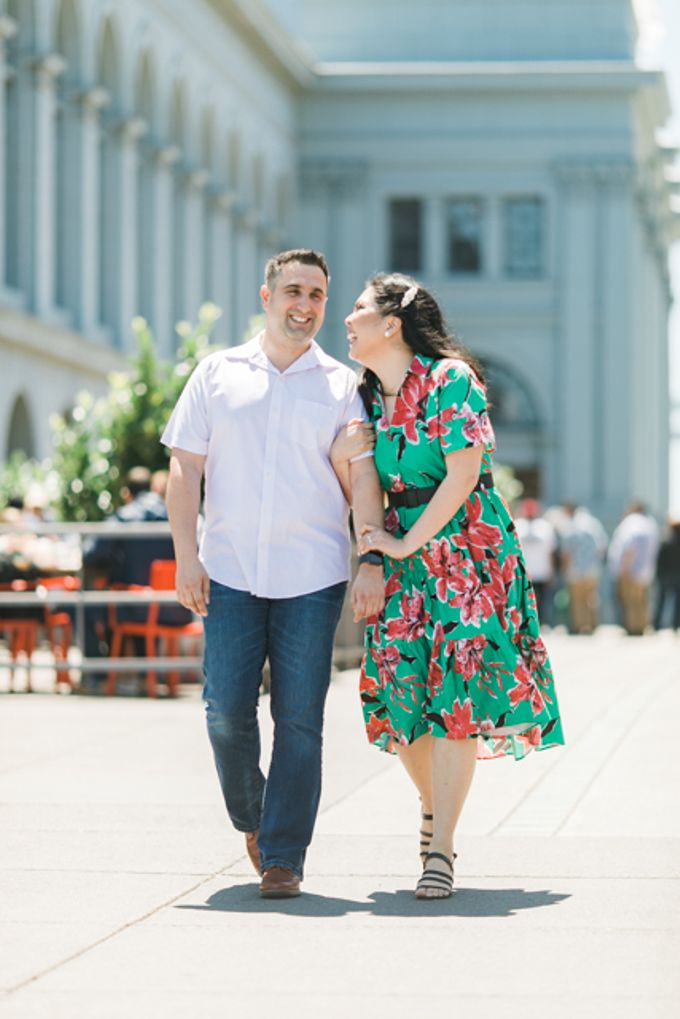 A Sunny San Francisco California Engagement Session by Foreveryday Photography - 013
