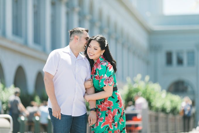A Sunny San Francisco California Engagement Session by Foreveryday Photography - 014